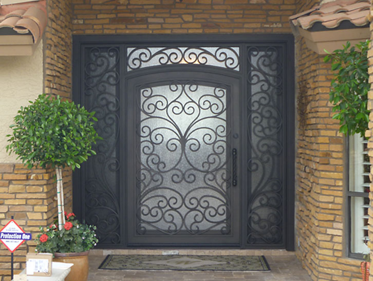 A walk through our entry door design process allied gate co for Door to gate kontakt