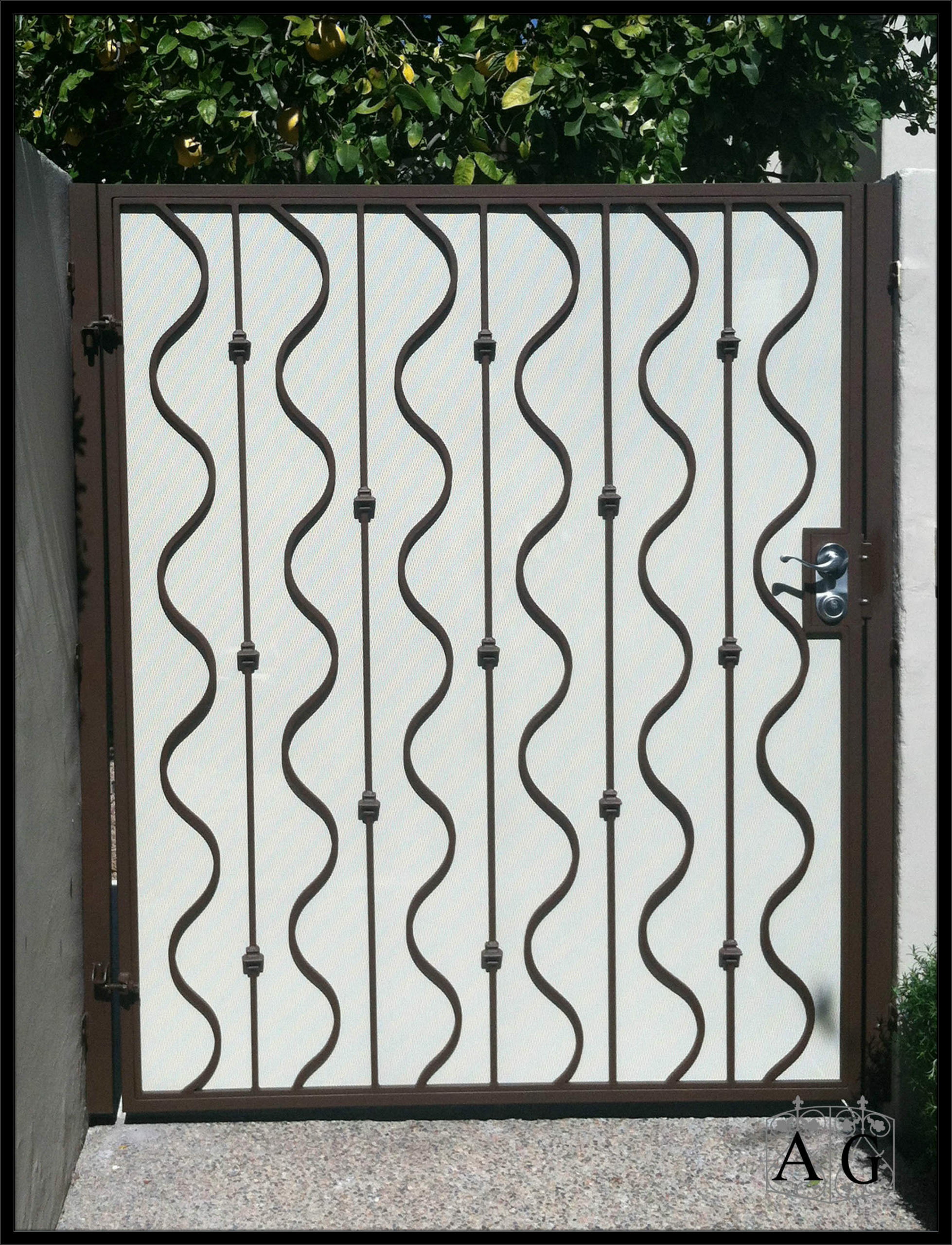 Wrought Iron Gates: Manufacturer Of Custom Iron Doors And
