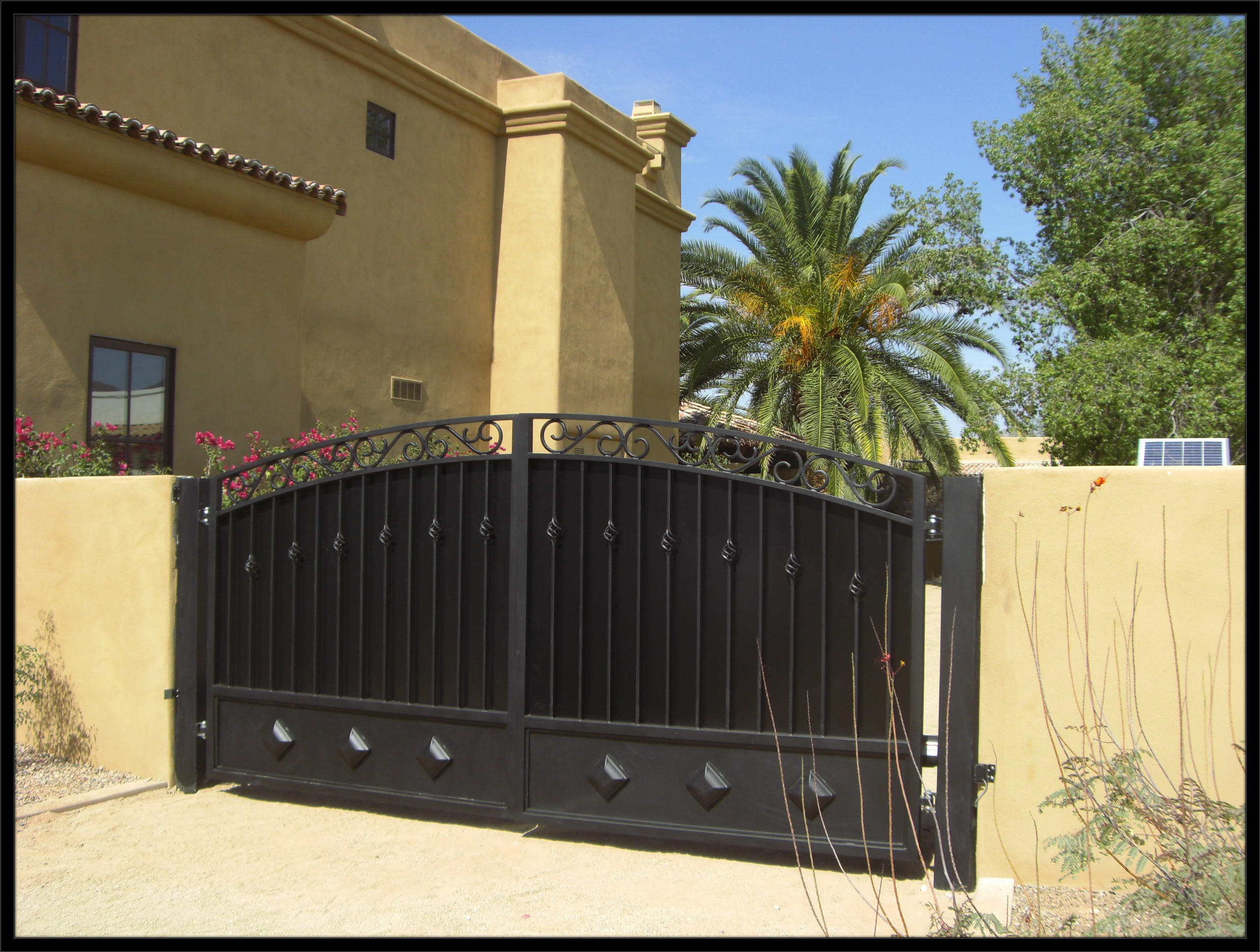 Maintaining Your Courtyard Driveway Gates Allied Gate Co