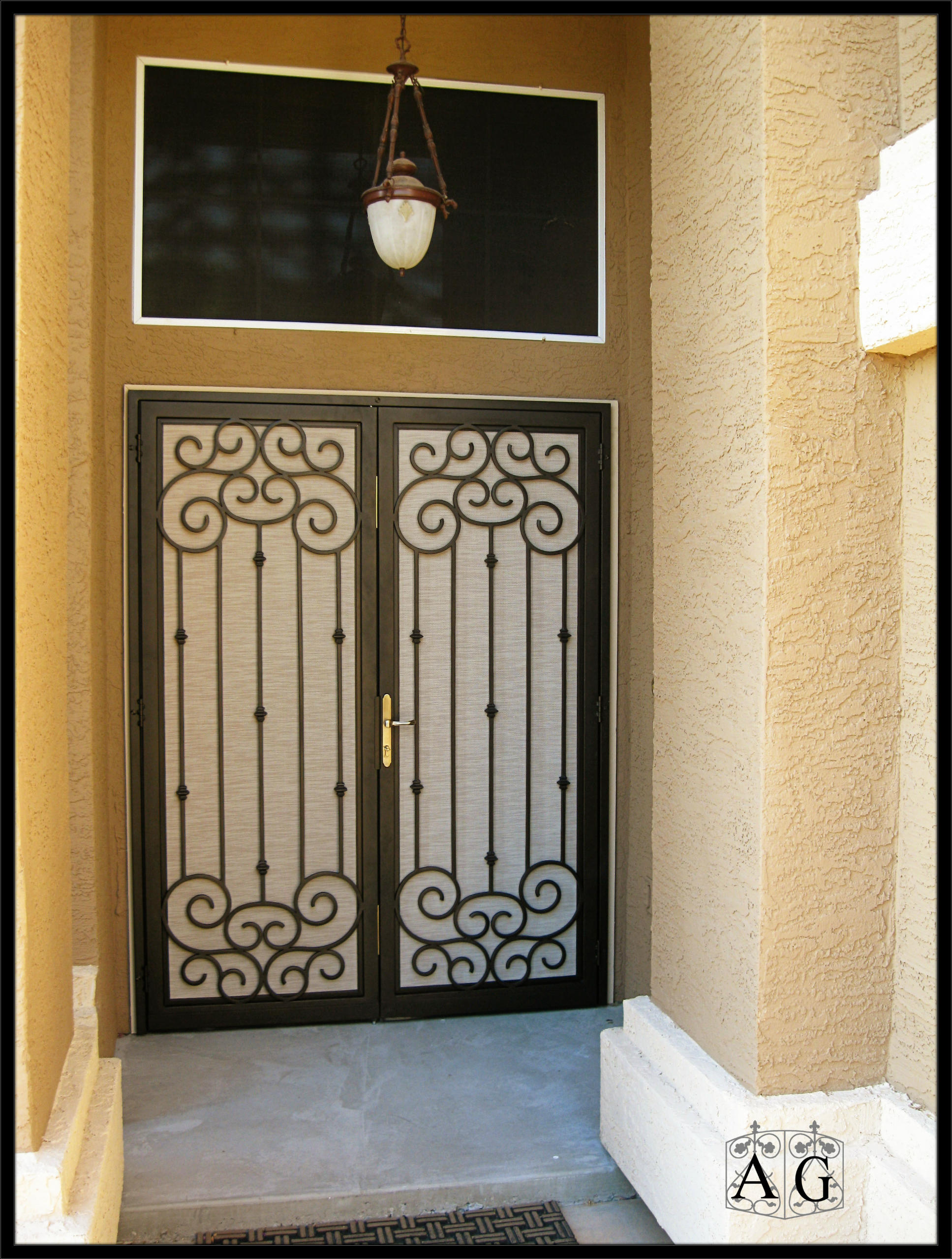 2559 #987133  Gate Co. Manufacturer Of Custom Iron Doors And Gates. Page 2 picture/photo Security Doors Phoenix Az 6091935