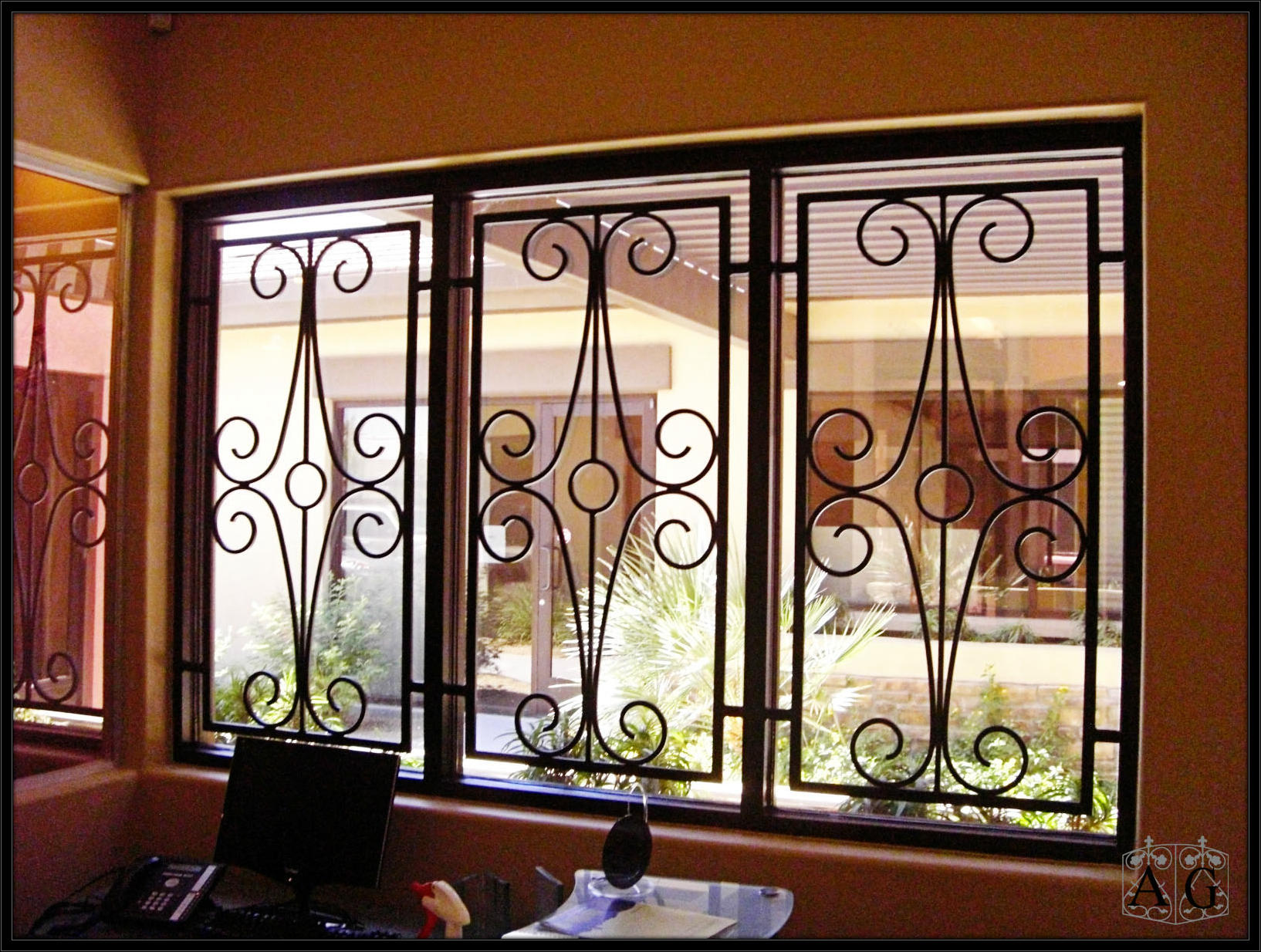 Decorative Burglar Bars For Windows